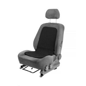 Подогрев сидений Cartage, со спинкой, без регулятора, 12 В, 50 Вт, 40х80 см, греющий жгут - нити MicroHEAT Ош