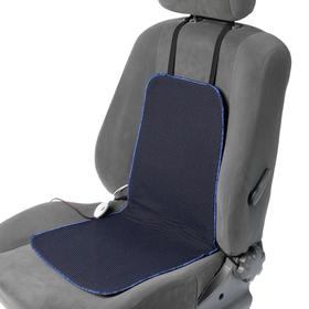 Seat heating Cartage, with backrest, 2 heating modes, 12 V, 30/50 W, 40x80 cm