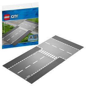 Конструктор Lego City «Прямой и Т-образный перекрёсток»