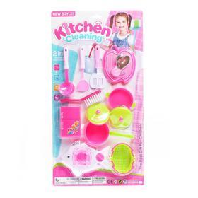 Набор посуды «Учимся готовить», МИКС