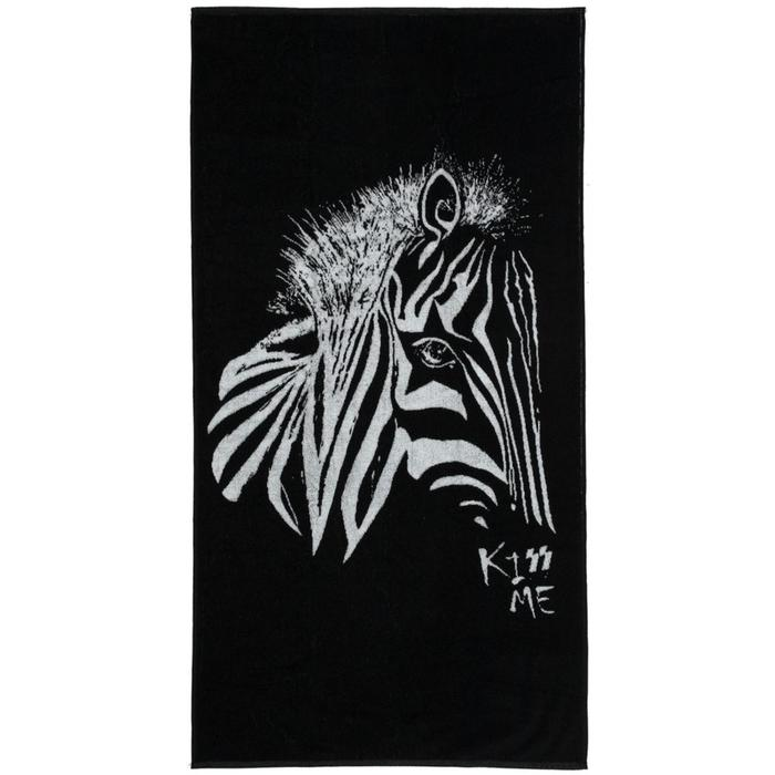 Полотенце «Арт-рокстар. Kiss Me», размер 70x140 см - фото 7929818