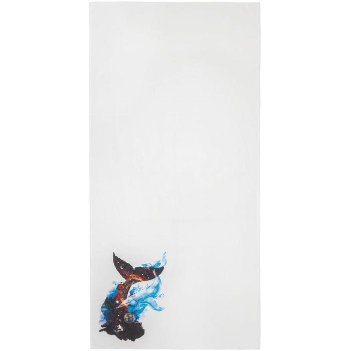 Полотенце «Гиганты Вселенной» белое, размер 50x100 см - фото 7929826