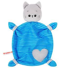 Мягкая игрушка «Комфортер Котёнок Кекс»