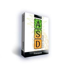 Бестабачная смесь ASD Pineapple (ананас) 50 г, без никотина