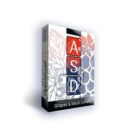 Бестабачная смесь ASD Grapes, black currant (виноград и чер. смород.) 50 г, без никотина