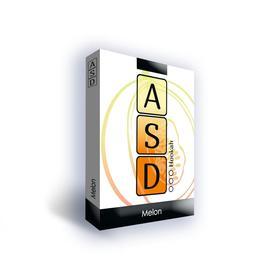 Бестабачная смесь ASD Melon (дыня) 50 г, без никотина