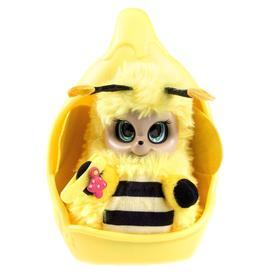 Игрушка «Bush пчелка Бри»20 см шевелит ус, глаз, с кроваткой-коконом, заколкой и шармом