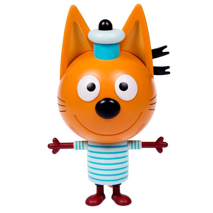 Фигурка пластиковая «Коржик», 15 см, со звуком, Три кота - фото 956222