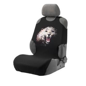 """Cover-t-shirt Comfort-Lux, """"Leopard"""", on the front seat, cotton+foam"""