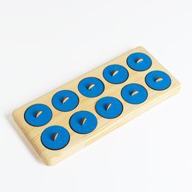 Тактильный планшет Монтессори