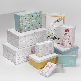 """10 in 1 """"Stylish gift box set"""", 12 × 7 × 4 - 32.5 × 20 × 12.5 see"""