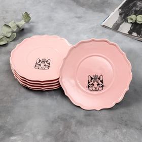 {{photo.Alt || photo.Description || 'Набор тарелок «Кошка», 20 см, розовые, 6 шт'}}