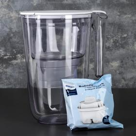 Фильтр-кувшин Philips Micro X-Clean, 3,4 л, цвет белый