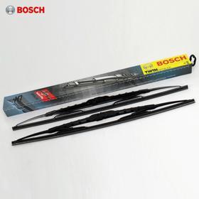 Щетка стеклоочистителя каркасная, 600/450 мм, Bosch Twin, 2 шт, 3397010291