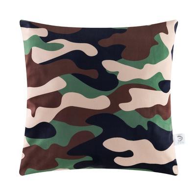 """Decorative pillow case Ethel """"Khaki"""" 40 x 40 cm, 100% p/e"""