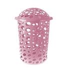 """Корзина для белья 45 л """"Сорренто"""", цвет розовый"""