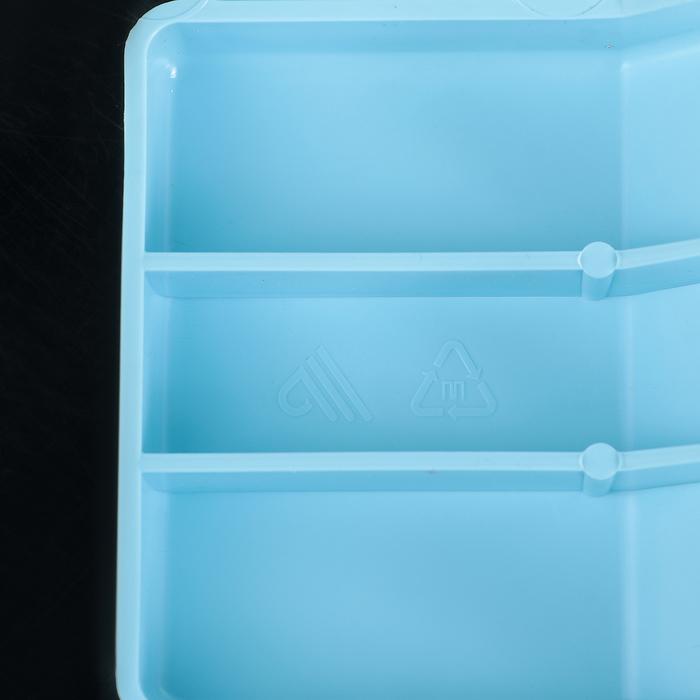 Сиденье для ванны, цвет голубой