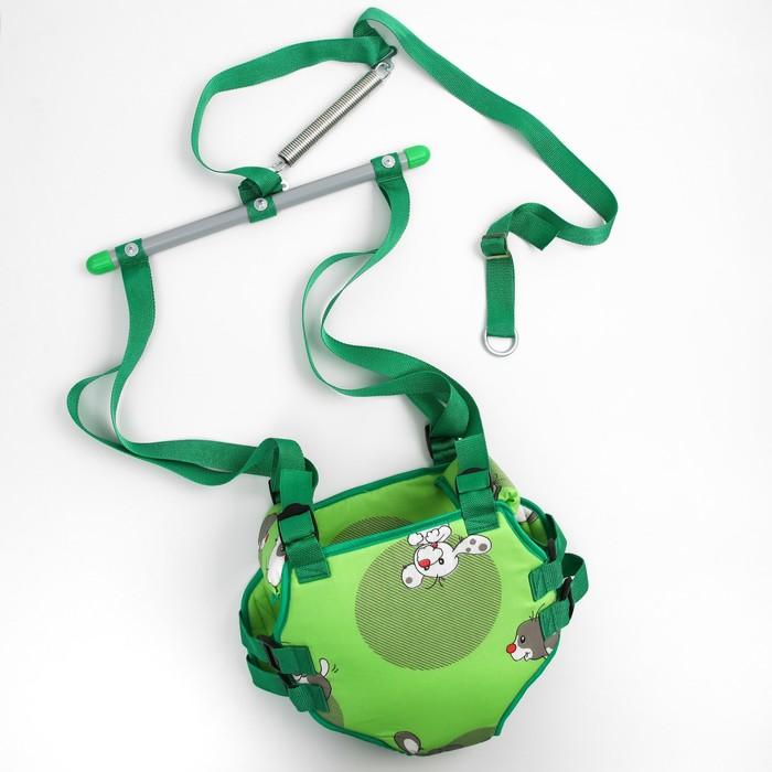 Тренажёр-прыгунки 4 в 1, цвета МИКС