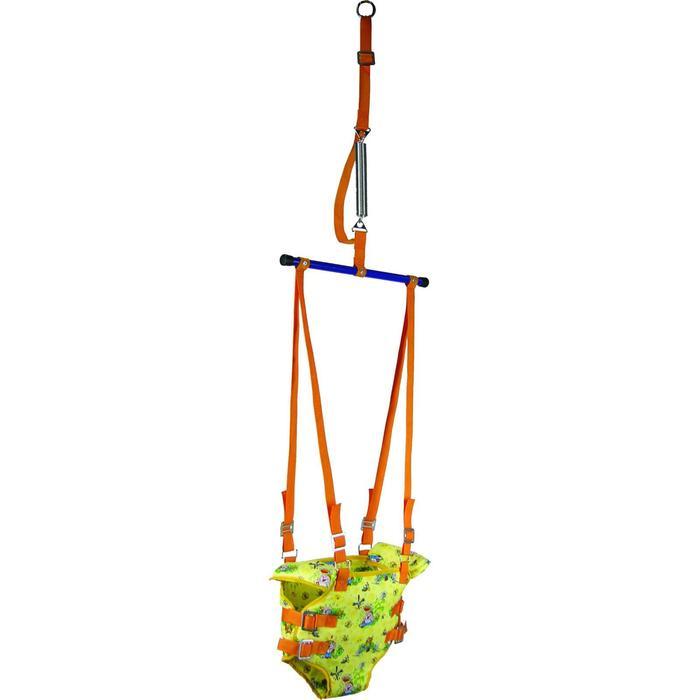Тренажёр-прыгунки 2 в 1, цвета МИКС