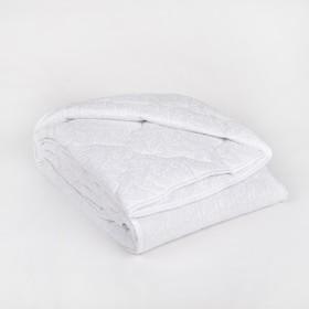Одеяло всесезонное Адамас 'Лебяжий пух', размер 140х205 ± 5 см, 300гр/м2, чехол поплин Ош