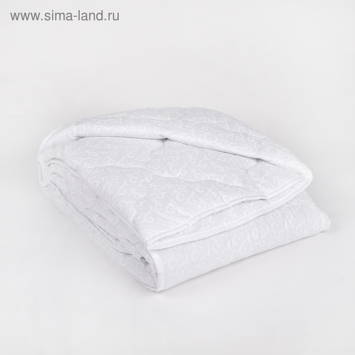 """Одеяло всесезонное Адамас """"Лебяжий пух"""", размер 140х205 ± 5 см, 300гр/м2, чехол поплин"""