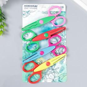 """Scissors relief """"flower"""", set of 4-piece"""