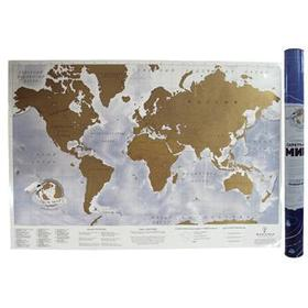 Скетч карта мира «Truemap Adventure»