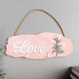 "Decorative tree hooks ""Daisies-Love"" 11, 5x29, 5x2, 5 cm"
