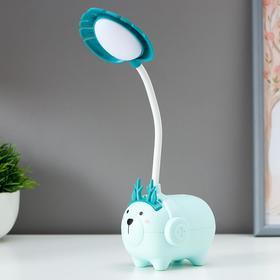 Лампа настольная 16022/1 LED 1,5Вт USB АКБ МИКС 9,5х7х28,5 см