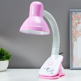 Лампа настольная 16114/1PK E27 40Вт розовый 12,5х13х44 см