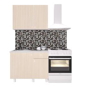 Кухонный гарнитур «Поинт», 1 м, ЛДСП, столешница «Антарес» 28 мм, без мойки, цвет феррара
