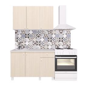 Кухонный гарнитур «Поинт», 1,2 м, ЛДСП, столешница «Антарес» 28 мм, без мойки, цвет феррара   536185