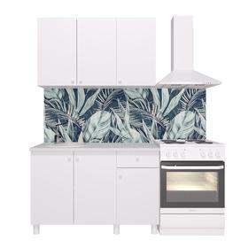 Кухонный гарнитур «Поинт», 1,2 м, ЛДСП, столешница «Антарес» 28 мм, без мойки, цвет белый