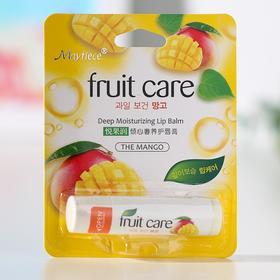 Губная помада гигиеническая Mayfiece, манго, 5,5 г Ош