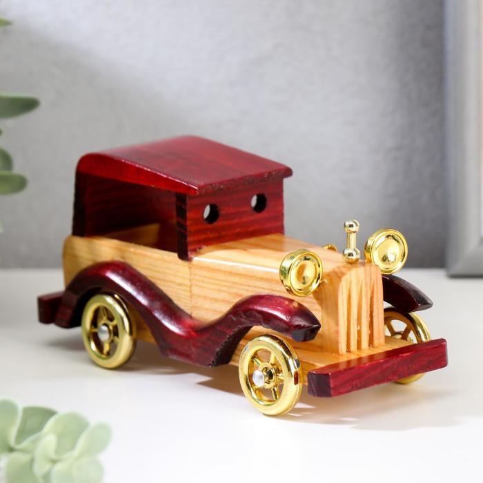 """Сувенир дерево """"Ретроавтомобиль"""" 5,5х6,5х14,5 см"""