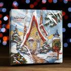 Салфетки бумажные New Line FRESCO Зимний домик 2 слоя 20 листов 33*33