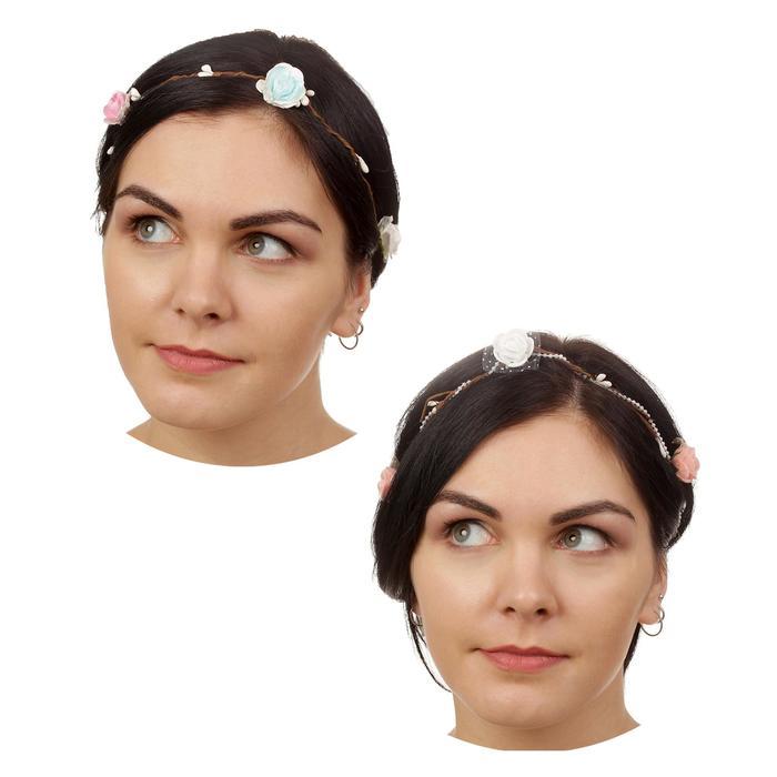 Декор для волос, вплетаемый, МИКС