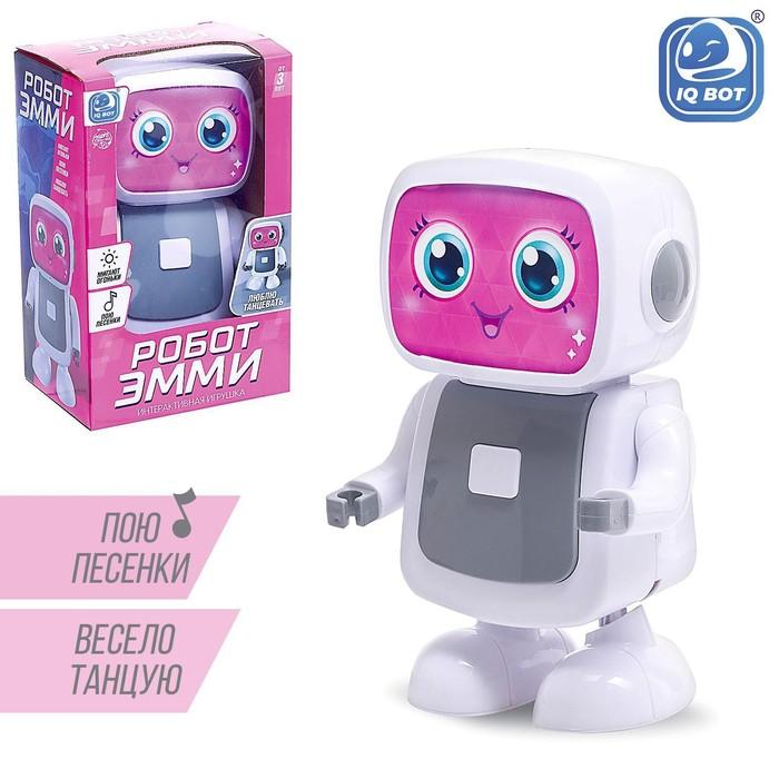 Робот «Эмми», музыкальный, танцует, русский звуковой чип - фото 8999960