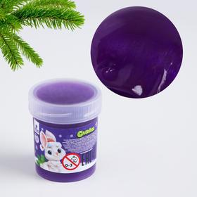 "Slime ""Bunny in a hat"", purple, 40g"