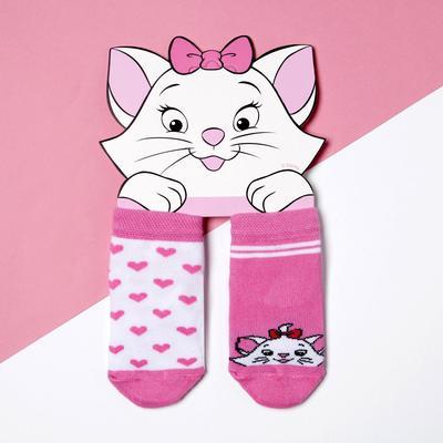 """Набор носков """"Мари"""", Коты аристократы, 2 пары, 12-14 см"""