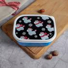 "Lunch box ""Winter unicorns"" 500 ml"
