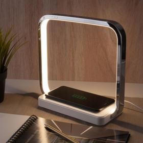 Настольная лампа Frame, 4Вт LED 4200К, 190лм, цвет хром