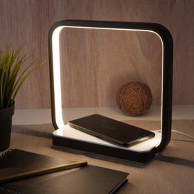 Настольная лампа Frame, 4Вт LED 4200К, 190лм, цвет чёрный