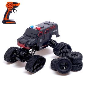 """Jeep radio-controlled """"Crawler all-terrain vehicle"""", 1: 15, all-wheel drive 4WD, powered by battery, MIX 503680"""
