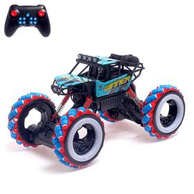 "Car radio-controlled ""remote control"", 4WD all-wheel drive, backlight, battery operated, MIX"