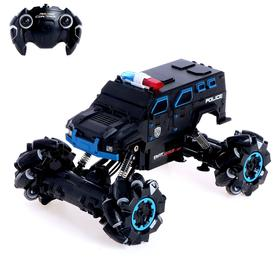 """Radio-controlled car """"Jeep acrobat"""", 4WD, movement in all directions, battery, MIX"""
