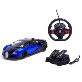 """Car radio-controlled """"Coupe"""", complete with pedals and steering wheel, powered by batteries, MIX"""