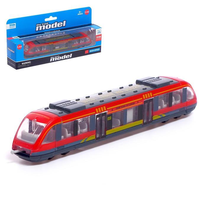 Поезд «Метро», инерция, МИКС - копия - фото 2502649