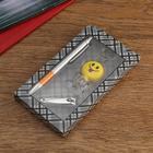 Набор подарочный 3в1 (ручка, брелок, кусачки), микс - фото 496102