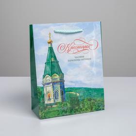 "Vertical laminated package ""Krasnoyarsk"" MS, 18 x 23 x 8 cm"